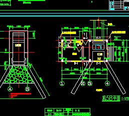 某石门泵站设计图纸
