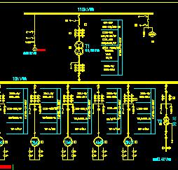 泵站电气主接线设计图纸