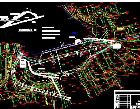 水库除险加固工程施工图