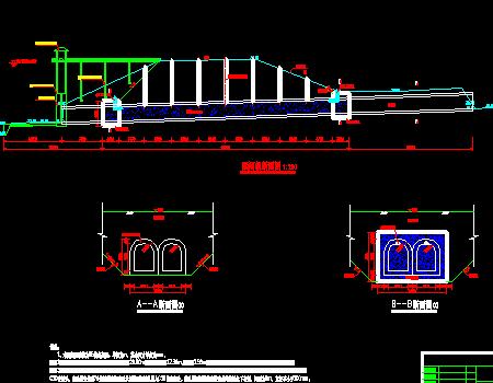 库区涵闸封堵工程施工节点详图