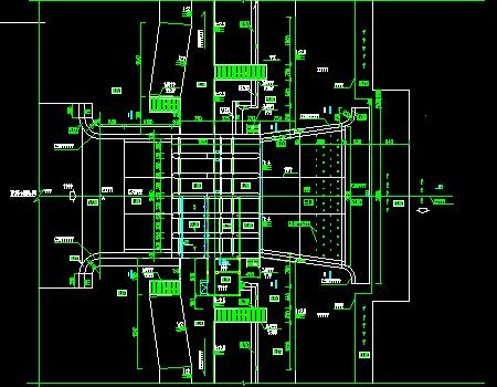 开敞式水闸工程施工图
