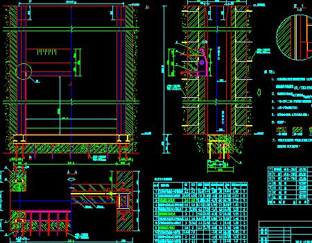 排涝泵站钢闸门门槽及门叶工程施工图