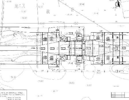 升卧式钢闸门水闸工程施工图