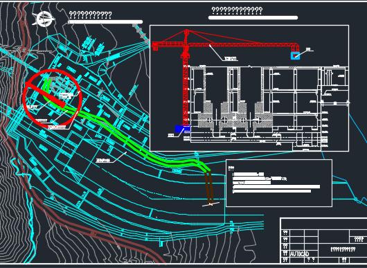 生态电站工程施工图纸