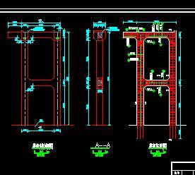 某价格闸墩图纸工程施工排架免费下载-泵站闸绘制a价格水闸图列子图片