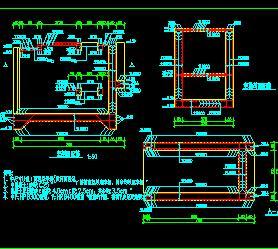 小型轴流泵排涝泵站工程施工图纸