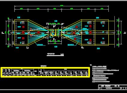 预制混凝土圆形涵洞式水闸设计图