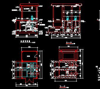 泵站电机层更新改造施工图纸