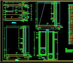 某水闸闸室构造详图