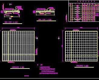 某进水闸构造设计图