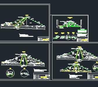 某水库土石坝工程设计图