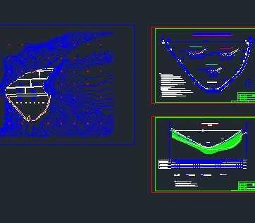 某面板堆石坝趾板灌浆设计图