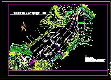 水库技施设计图纸