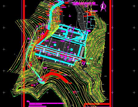 小型病险水库加固工程施工图