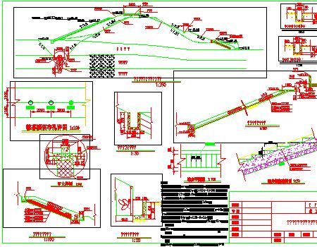 小型水库大坝除险加固工程施工图