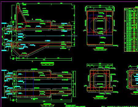 堤防加固工程施工图