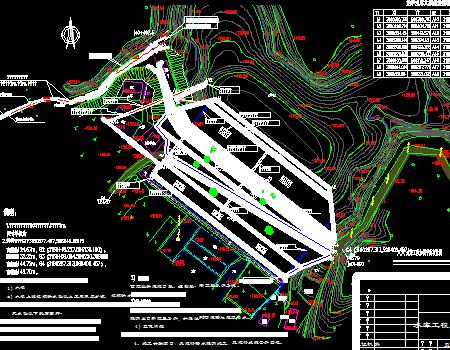 小型水库除险加固工程大坝施工图