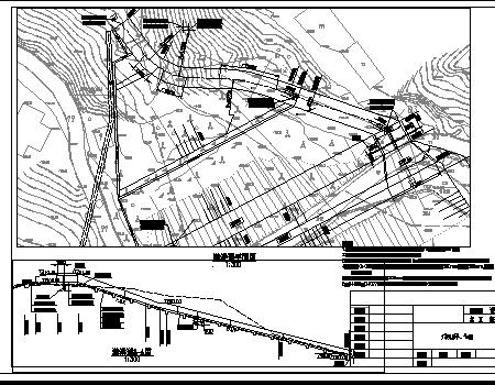 小型水库除险加固溢洪道工程施工图