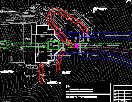 联合进水口工程施工图