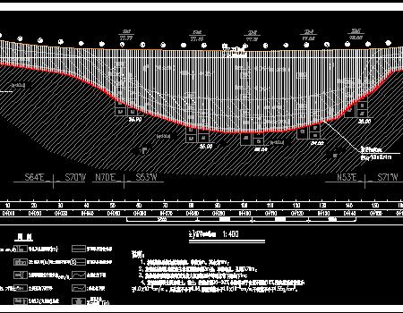 除险加固水库大坝旋挖钻回填工程施工图