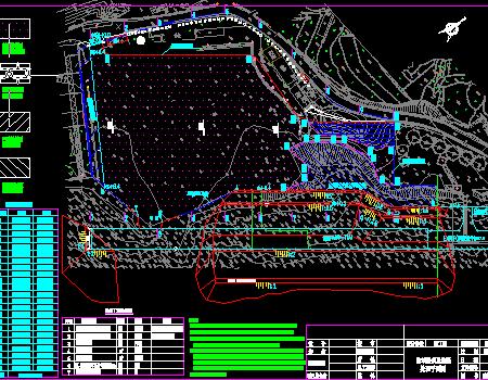 码头陆域道堆工程施工图