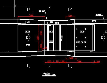 水利工程拦河坝结构图
