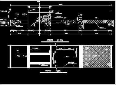 拦水坝施工图