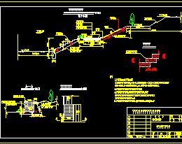 河堤标准横断设计图
