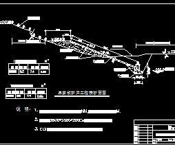 护岸堤防构造施工图纸