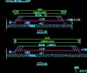 2万吨级码头平台施工图纸