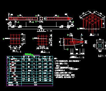 港口码头河道护岸整治工程施工图纸