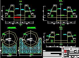 某河道治理工程技术施工图纸(含清单)