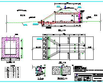 2.4千米堤防整治工程全套施工图纸