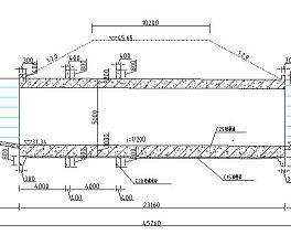 某河道分洪工程水利施工图纸(含工程清单)