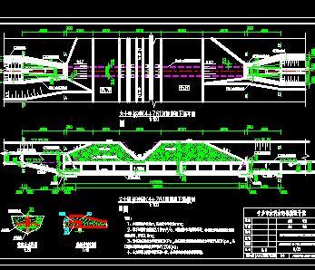 某河道治理工程堤防防渗加固施工图纸(附工程清单)