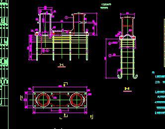 系船柱结构设计详图