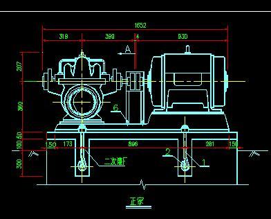 水泵安装设计大样图
