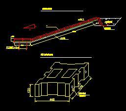 河道铰接式护坡节点详图
