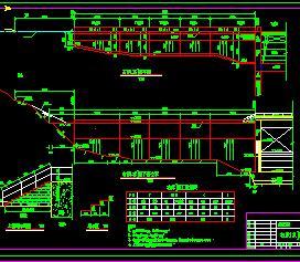 某大坝结构设计图纸