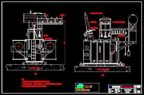 水电站共箱母线设计图
