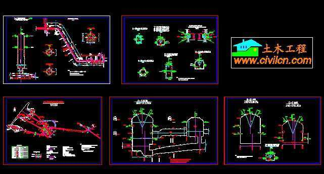 某水电站地下厂房监测图纸
