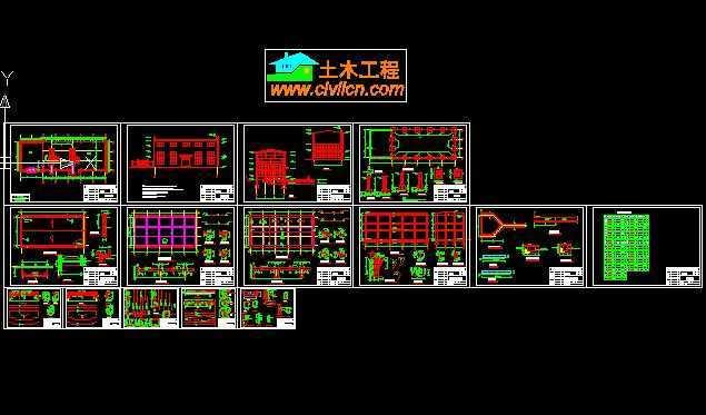 电站厂房详细设计图