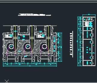某厂房发电机设计图