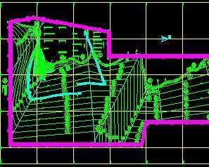 矿区水文地质剖面图_某矿井水文地质规划图免费下载 - 电站厂房 - 土木工程网