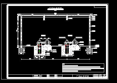 小型水电站厂房设计图纸