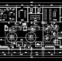 电站厂房设计图纸