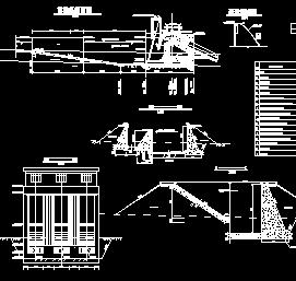 电站前池压力管道设计图纸