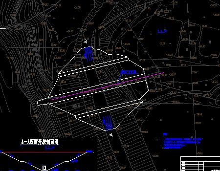 堤防维修加固工程施工图