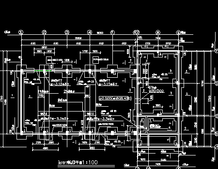 水电站厂房工程初步设计施工图