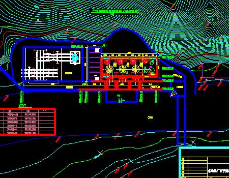 水电站厂房扩容改造工程初步设计施工图